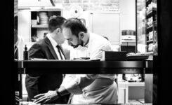 Lo chef Stefano Sforza si racconterà  ai ragazzi dell'istituto alberghiero